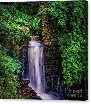 Vickery Creek Dam Canvas Print
