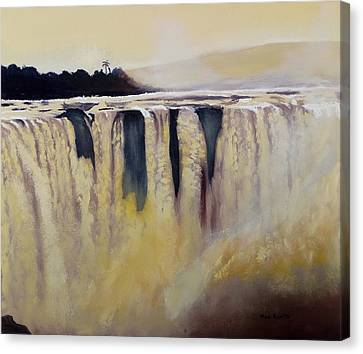 Victoria Falls Zimbabwe Waterfall Canvas Print