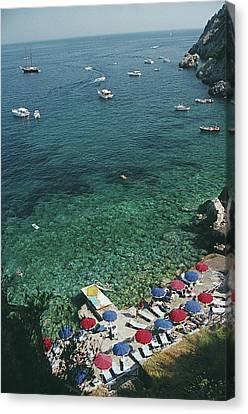 View From Il Pellicano Canvas Print