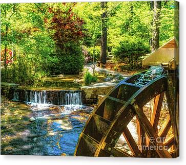 View From The Mill Canvas Print