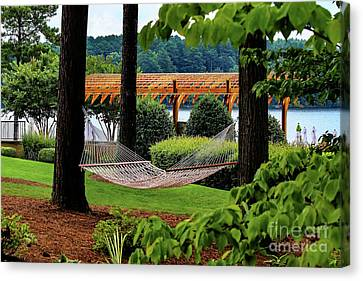 View To Calm Canvas Print
