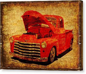 Vintage Pickup Canvas Print