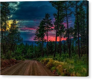 Whispering Sunset Canvas Print
