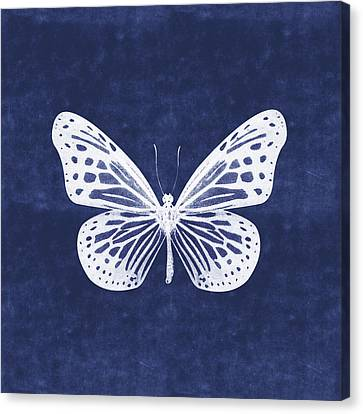 White Butterfly Canvas Prints Fine Art America