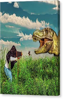 Wildlife Photographer  Canvas Print