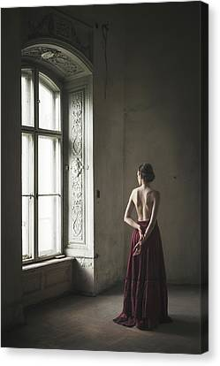 Burlesque Woman Canvas Wall Art Poster Print Nude Erotic Girl Naked Lingerie