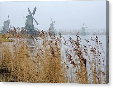 Winmills Canvas Print