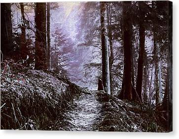 Winter Painting Canvas Print