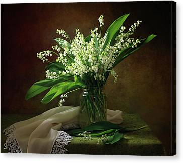 Wall Art Lily Of The Valley Bouquet Art//Canvas Print Poster Home Decor C