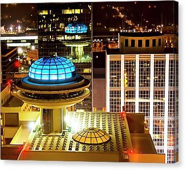 Yesterday's Future - Classic Atlanta Skyline Canvas Print