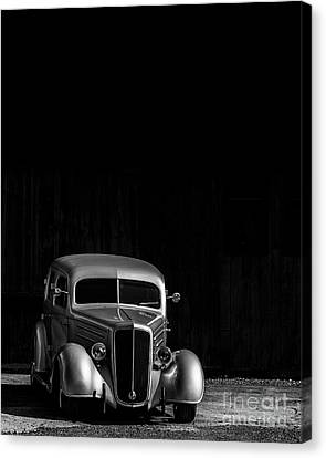 Ready to Hang CANVAS Photo of Antique Car with Old Barn Rustic Wall Art Nostalgic Gift for Him Americana Decor Unframed Photography Large Print Sizes Grey Rust Black Green Blue