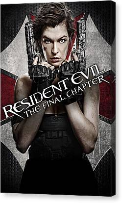 Resident Evil Canvas Prints Fine Art America