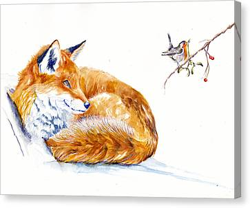 Christmas Truce Canvas Prints Fine Art America