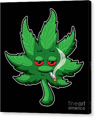 Smoking Weed Canvas Prints Page 6 Of 9 Fine Art America