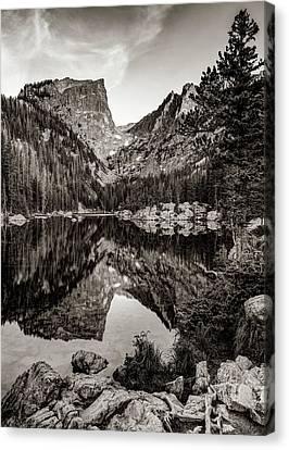 print on canvas  8x10 Bear Lake Refuge