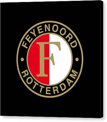 Feyenoord Canvas Prints Fine Art America