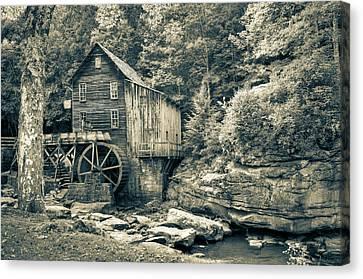 Old Grist Mill Canvas Prints Fine Art America