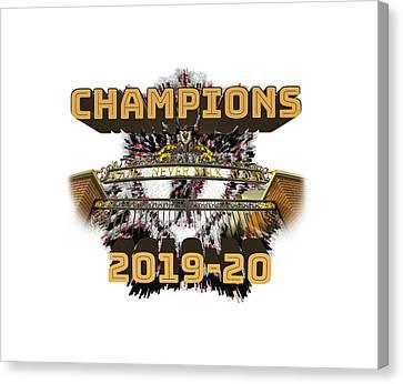 Liverpool 2019 Champions Football Print Canvas Wall Art 30X20 INCH 76x50CM