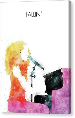 CANVAS Alicia Keys Art print POSTER