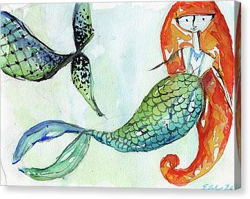 Mermaid Canvas Prints Page 17 Of 35 Fine Art America