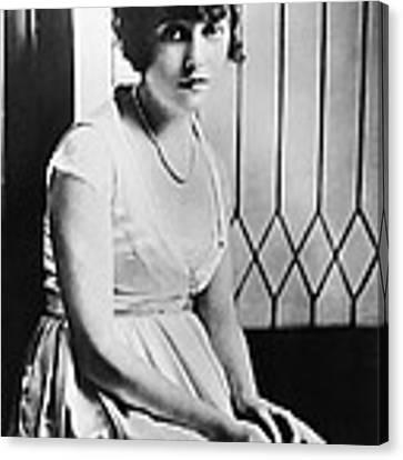 Actress Mabel Normand Canvas Print