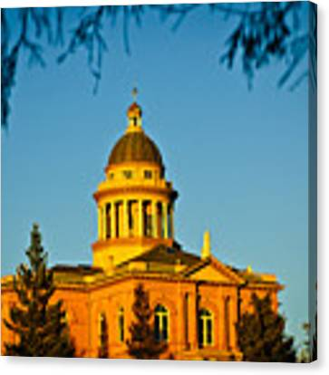 Historic Auburn Courthouse 14 Canvas Print by Sherri Meyer