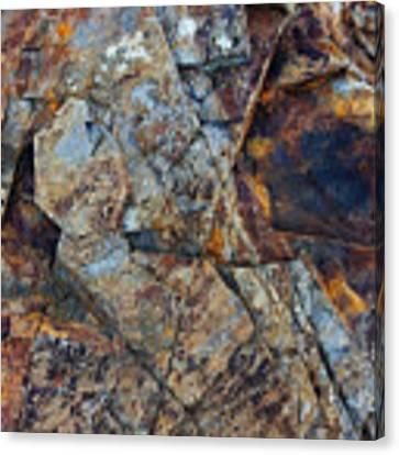 Rock Geometry Canvas Print by Julian Perry