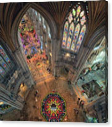 Ely Cathedral Flower Festival Canvas Print by James Billings