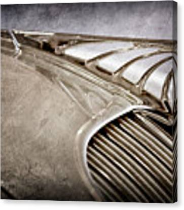 1934 Desoto Airflow Coupe Hood Ornament -2404ac Canvas Print by Jill Reger