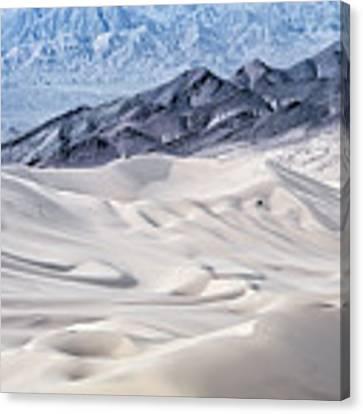 Dumont Dunes 4 Canvas Print by Jim Thompson