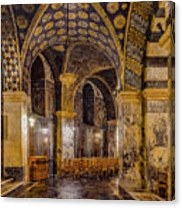 Aachen, Germany - Cathedral Ambulatory Canvas Print by Mark Forte
