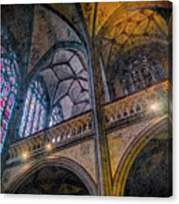 Aachen, Germany - Cathedral - Nikolaus-michaels Chapel Canvas Print by Mark Forte