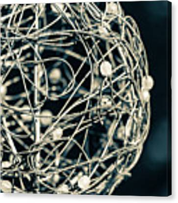 Abstract Sphere Canvas Print by Todd Blanchard