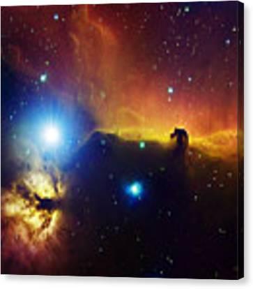 Alnitak Region In Orion Flame Nebula Canvas Print by Filipe Alves