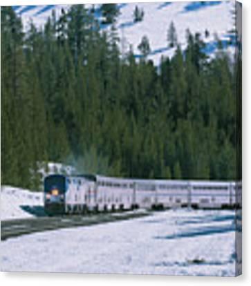 Amtrak 112 1 Canvas Print by Jim Thompson