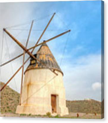 Andalusian Windmill Canvas Print by Heiko Koehrer-Wagner