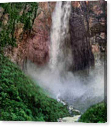 Angel Falls Canaima National Park Venezuela Canvas Print by Dave Welling