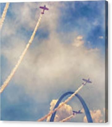Arch Flight Canvas Print by Susan Rissi Tregoning
