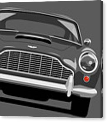 Aston Martin Db5 Canvas Print