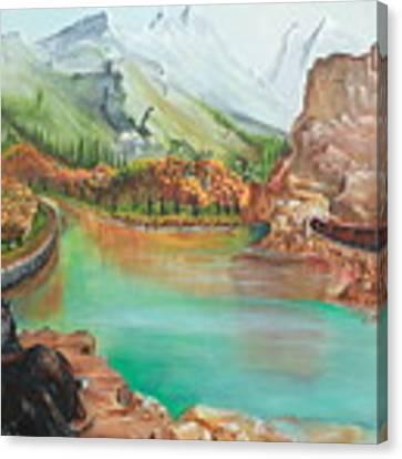 Autumn Canvas Print by Farzali Babekhan