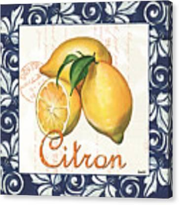 Azure Lemon 2 Canvas Print