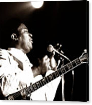 B B King And Lucille 1978 Canvas Print