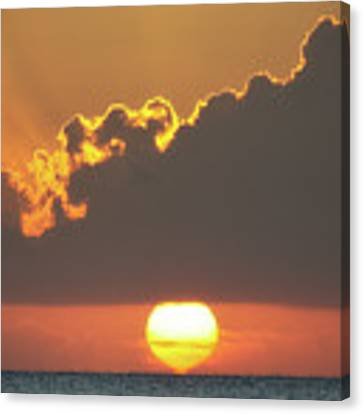 Ball Of Fire Canvas Print by David Buhler