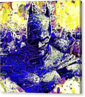 Batman 2 Canvas Print by Al Matra