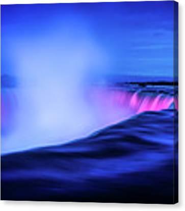 Blue Hour At Niagara Falls Canvas Print by Kevin McClish