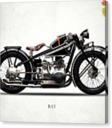 The R47 Motorcycle Canvas Print by Mark Rogan
