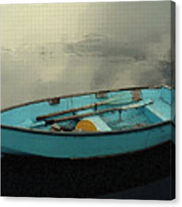 Boat Canvas Print by Artistic Panda