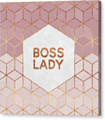 Boss Lady Canvas Print by Elisabeth Fredriksson