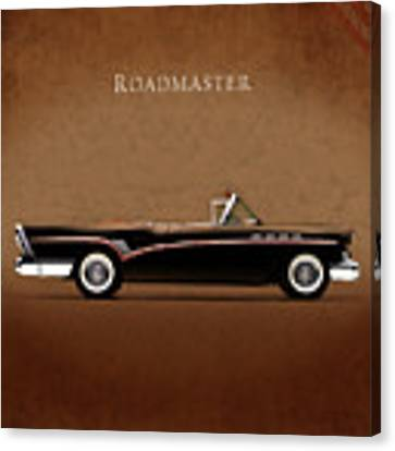 Buick Roadmaster 1957 Canvas Print