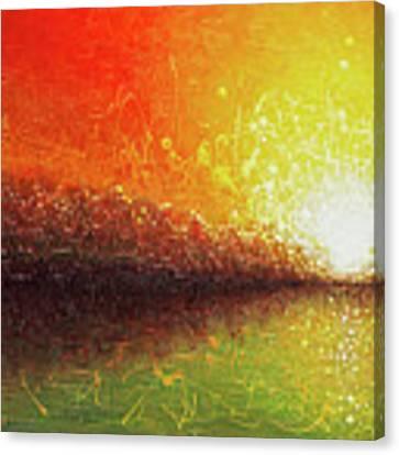 Bursting Sun Canvas Print by Jaison Cianelli